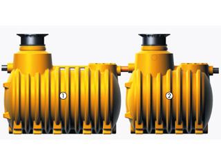 Kleinkläranlage INNO-CLEAN Zweibehälteranlage