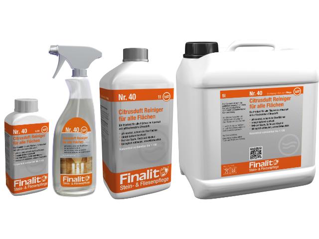 Produktbild Finalit 40 Citrusduft Reiniger für alle Flächen