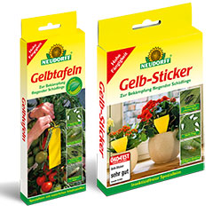 Neudorff Gelb-Sticker und Gelbtafeln