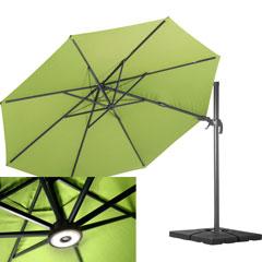 Doppler Klappbarer Rasenspieß Schirmständer               grau 51 x 43 cm h 32