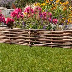 Mr. Gardener Haselnuss-Beetbegrenzung