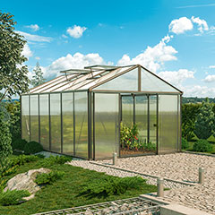 Gartenpro Profi-Gewächshaus