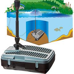 Mr. Gardener Teichfilter-Pumpen-Set TPS 2000