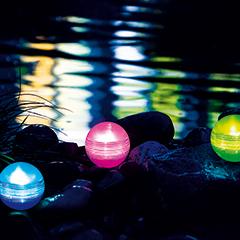 Heissner Schwimmende LED-Kugelleuchten