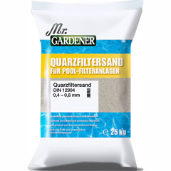 Mr. Gardener Quarzfiltersand