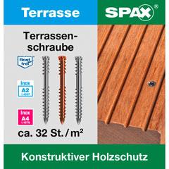 SPAX Terrassenschraube A2
