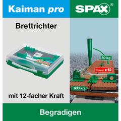SPAX Brettrichter Kaiman PRO