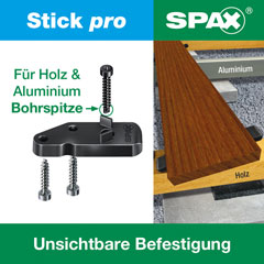 SPAX SPAX Terrasse Stick pro