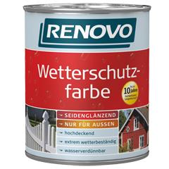 Renovo Wetterschutzfarbe