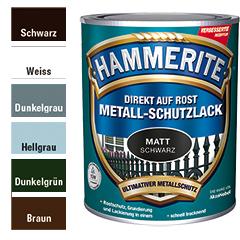 Hammerite Metall-Schutzlack, matt