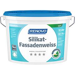 Renovo Silikat-Fassadenweiss