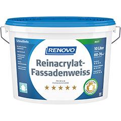 Renovo Reinacrylat-Fassadenweiss