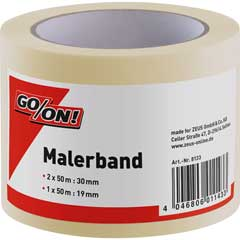 GO/ON! Malerband 3er Pack