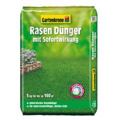 Gartenkrone Rasendünger mit Sofortwirkung