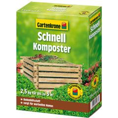 Gartenkrone Schnellkomposter