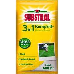 Substral 3in1 Komplett Rasendünger
