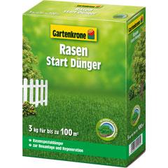 Gartenkrone Rasen Start Dünger