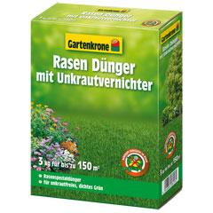 Gartenkrone Rasendünger mit Unkrautvernichter