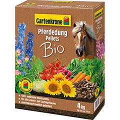 Gartenkrone Bio Pferdedung Pellets