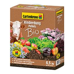 Gartenkrone Bio Rinderdung Pellets