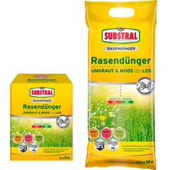 """Substral 3in1 Rasendünger """"Unkraut und Moos bleiben chancenlos"""""""