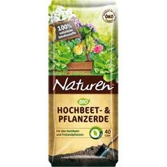 Naturen Bio Hochbeet und Pflanzerde