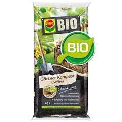 Compo Bio Gärtner-Kompost torffrei