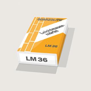 Produktbild Quarzolith Leichtmauermörtel LM36